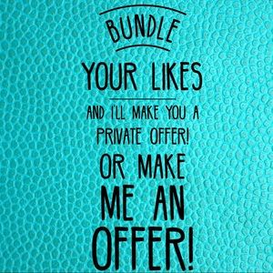 Tops - Bundle Your Likes and I'll Make You an Offer!
